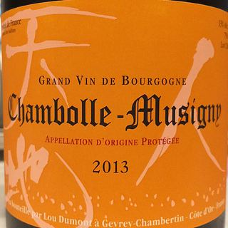 Lou Dumont Chambolle Musigny