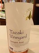 北海道ワイン Tazaki Vineyard Zweigelt Rose(2016)