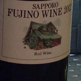 Sapporo Fujino Winery キャンベル 赤