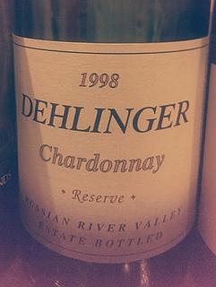 Dehlinger Chardonnay Reserve(デリンジャー シャルドネ リザーヴ)
