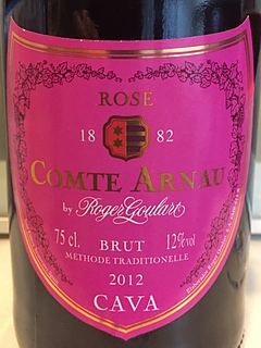 Comte Arnau by Roger Goulart Cava Brut Rosé(コンテ・アルナウ・バイ・ロジャー・グラート カヴァ ブリュット ロゼ)