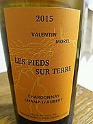 Valentin Morel Les Pieds Sur Terre Chardonnay Champ d'Aubert(2015)