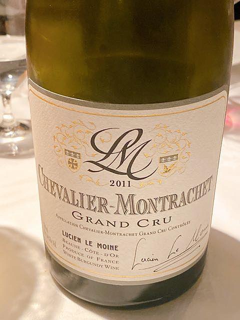 Lucien Le Moine Chevalier Montrachet Grand Cru(ルシアン・ル・モワンヌ シュヴァリエ・モンラッシェ グラン・クリュ)