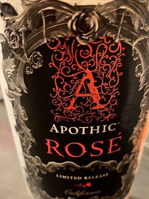 Apothic Rosé(アポシック ロゼ)