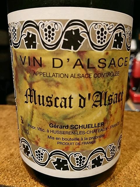 Gérard Schueller Muscat d'Alsace