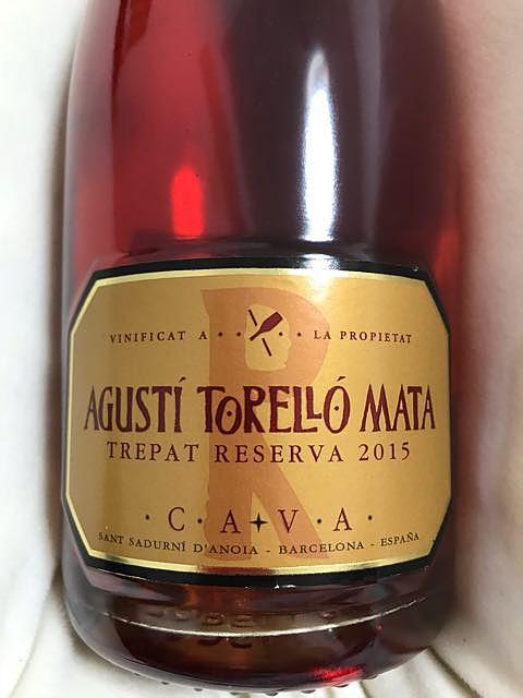 Agustí Torelló Mata Rosat Trepat(アグスティ・トレーリョ・マタ ロサット トレパット)