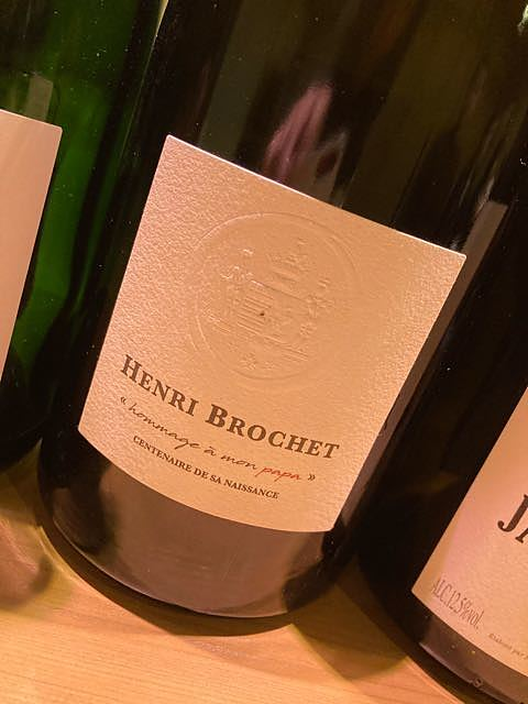Henri Brochet hommage à mon papa(アンリ・ブロシェ オマージュ・ア・モンパパ)