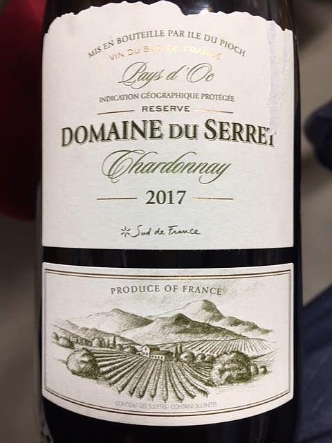 Dom. du Serret Chardonnay(ドメーヌ・デュ・セレ シャルドネ)