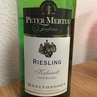 Peter Mertes Riesling Kabinett Halbtrocken
