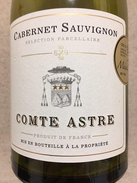 Comte Astre Cabernet Sauvignon(コント・アストル カベルネ・ソーヴィニヨン)