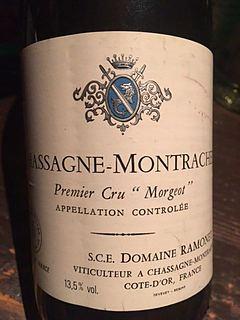 Dom. Ramonet Chassagne Montrachet 1er Cru Morgeot Blanc
