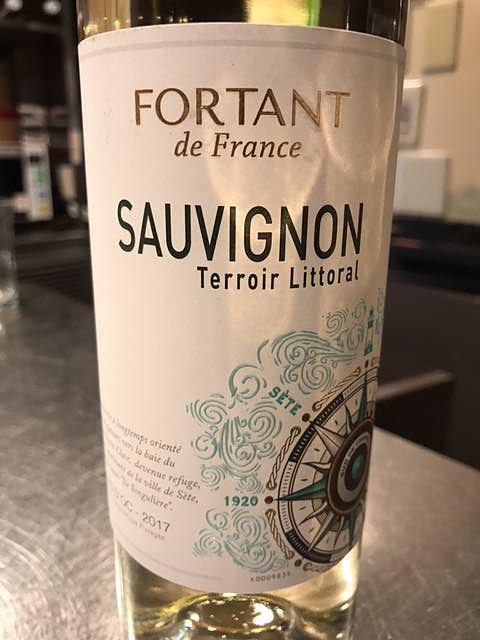Fortant de France Terroir Littoral Sauvignon Blanc(フォルタン・ド・フランス テロワール・リトラル ソーヴィニヨン・ブラン)
