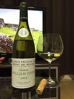 Dom. William Fèvre Chablis 1er Cru Mont de Milieu(ドメーヌ・ウィリアム・フェーブル シャブリ プルミエ・クリュ モン・ド・ミリュ)