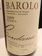 コルダーナ バローロ リゼルヴァ(2009)