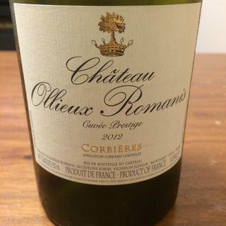 Ch. Ollieux Romanis Cuvée Prestige Blanc