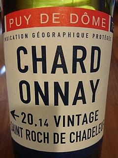 Saint Roch de Chadeleuf Puy de Dôme Chardonnay