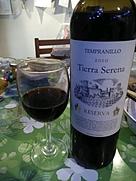 ティエラ・セレナ テンプラニーリョ レセルバ(2010)