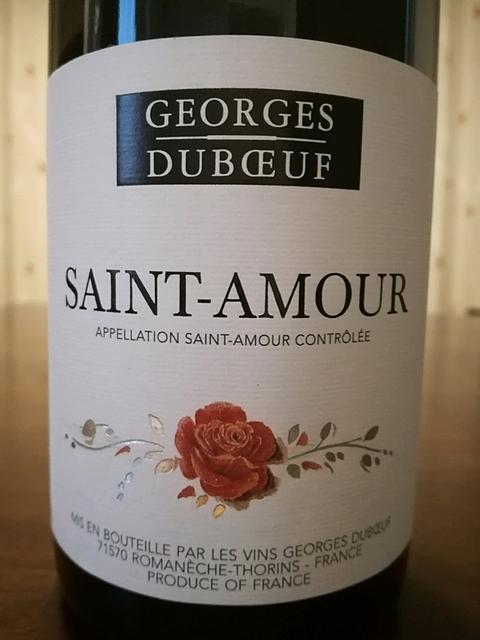 Georges Duboeuf Saint Amour
