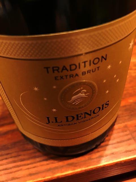 J.L. Denois Tradition Extra Brut(ジャン・ルイ・ドノワ トラディション エクストラ・ブリュット)