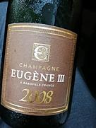 Champagne Eugène III Millésime