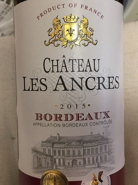 Ch. Les Ancres(シャトー レ・ザンクル)