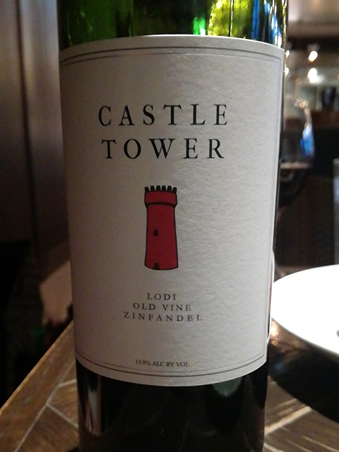 Castle Tower Old Vine Zinfandel(キャッスル・タワー オールド・ヴァイン ジンファンデル)