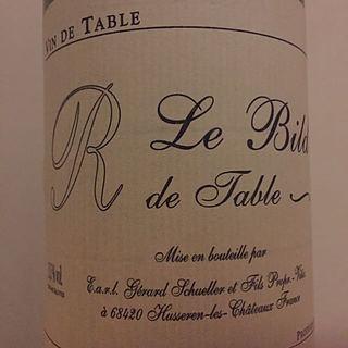 R de table Le Bild