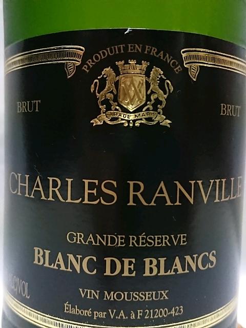 Charles Ranville Blanc de Blancs Brut Grande Réserve