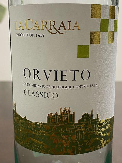 La Carraia Orvieto Classico(ラ・カッライア オルヴィエート クラッシコ)