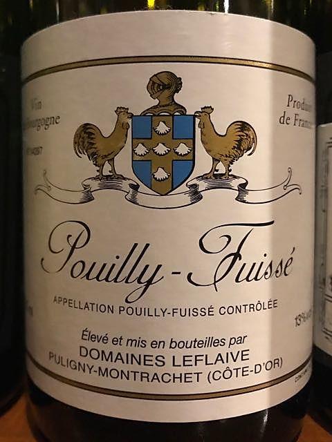 Dom. Leflaive Pouilly Fuissé