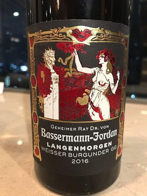 Dr. von Bassermann Jordan Pechstein Riesling GG(バッサーマン・ヨルダン ぺヒシュタイン リースリング)