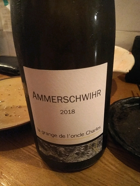 La Grange de l'Oncle Charles Ammerschwihr 2018