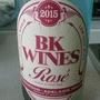 BK Wines Rosé(2015)