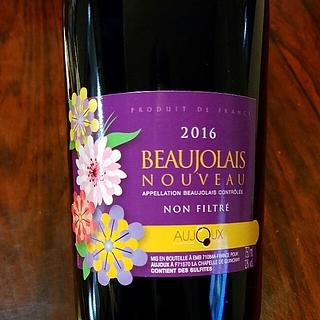 Aujoux Beaujolais Nouveau Non Filtre