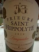 Fontésole Prieuré Saint Hippolyte Rouge(2016)