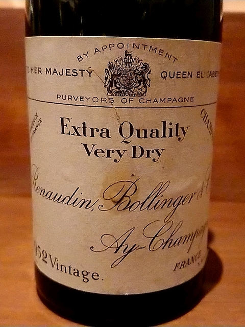 Bollinger Extra Quality(ボランジェ エクストラ・クオリティ)