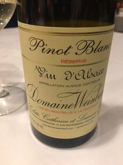 Dom. Weinbach Pinot Blanc Réserve