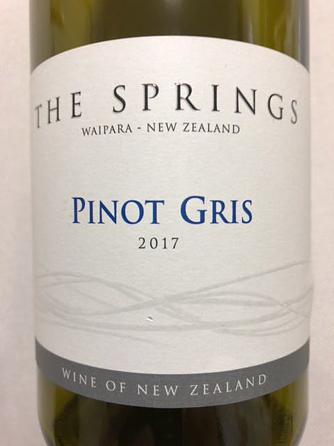 The Springs Pinot Gris