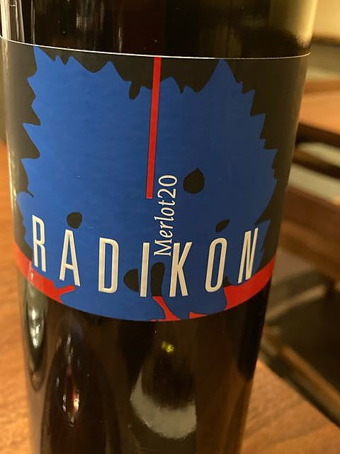 Radikon Merlot 20(ラディコン メルロ)