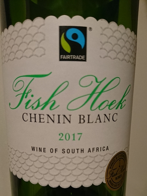 Fish Hoek Chenin Blanc(フィッシュ・フック シュナン・ブラン)