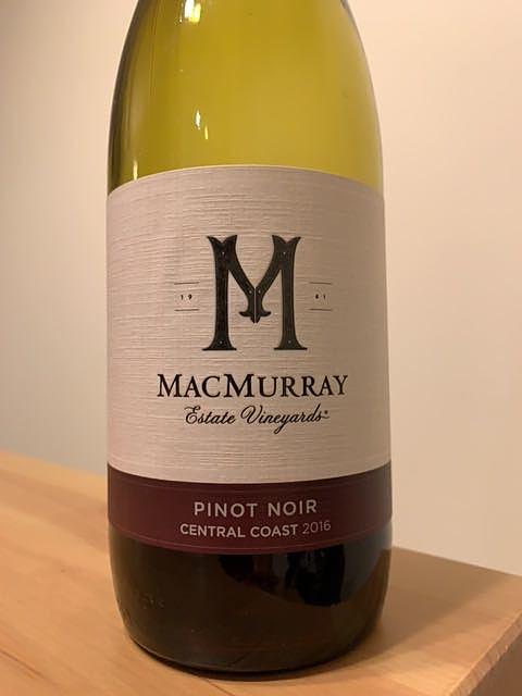 MacMurray Pinot Noir Central Coast(マクマレー ピノ・ノワール セントラル・コースト)