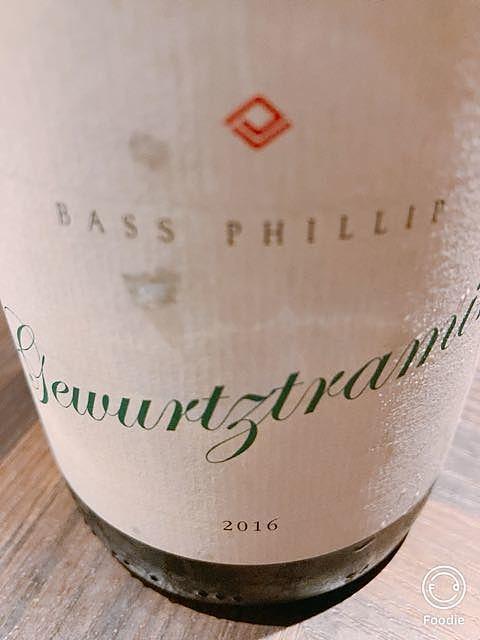 Bass Phillip Gewürztraminer(バス・フィリップ ゲヴュルツトラミネール)