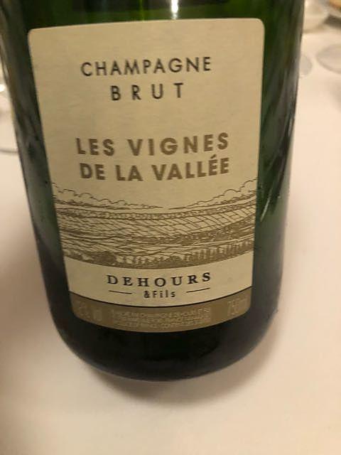 Dehours Les Vignes de la Vallée Brut(デウール レ・ヴィーニュ・ド・ラ・ヴァレ ブリュット)