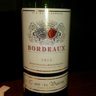 Comte de Valois Bordeaux Rouge