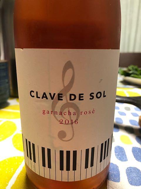 Clave de Sol Garnacha Rosé(クレフ・デ・ソル ガルナッチャ ロゼ)