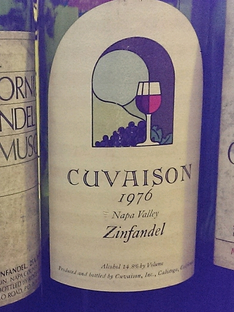 Cuvaison Zinfandel(クヴェゾン ジンファンデル)
