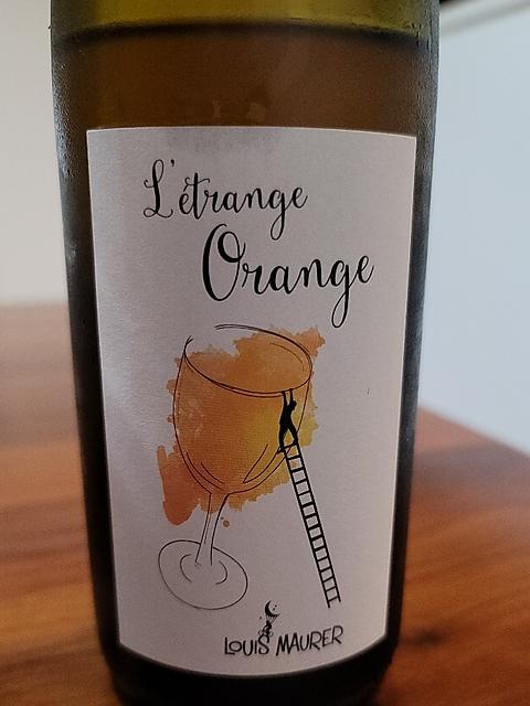 Louis Maurer L'étrange Orange(ルイ・モーラー レトランジュ・オランジュ)