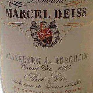 Marcel Deiss Altenberg de Bergheim Grand Cru Pinot Gris
