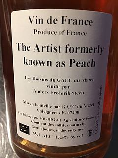 The Artist formerly known as Peach