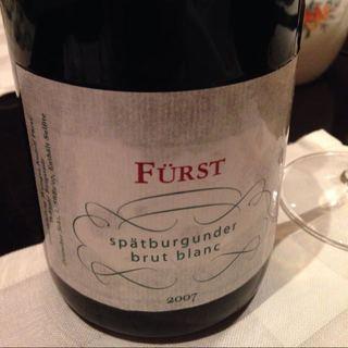 Fürst Spätburgunder Brut Blanc